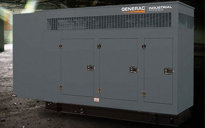 Generac Single Engine Generator - a great choice for a commercial generator, from Wolverine Power Systems in Michigan.