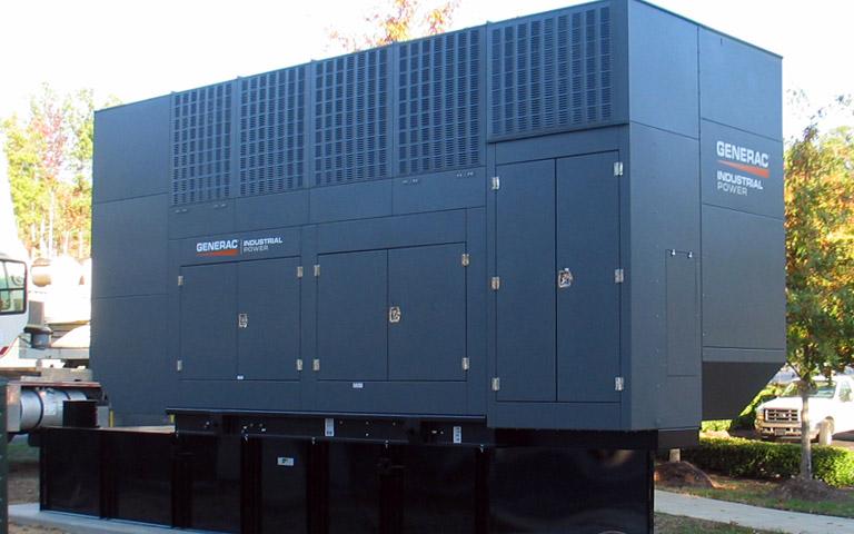 A Gemini Generac industrial generator from Wolverine Power Systems in Michigan