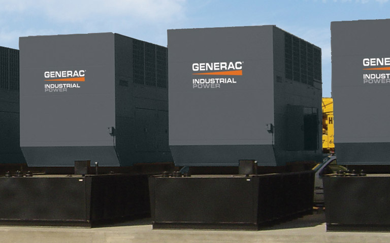 Generac industrial generators for MPS - Modular Power Systems, available as natural gas, diesel or bi-fuel from Wolverine Power Systems in Michigan