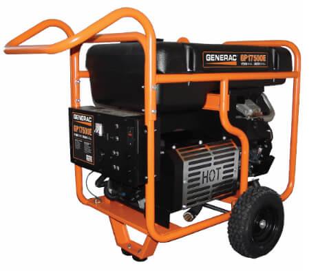 Generac portable generators in Michigan