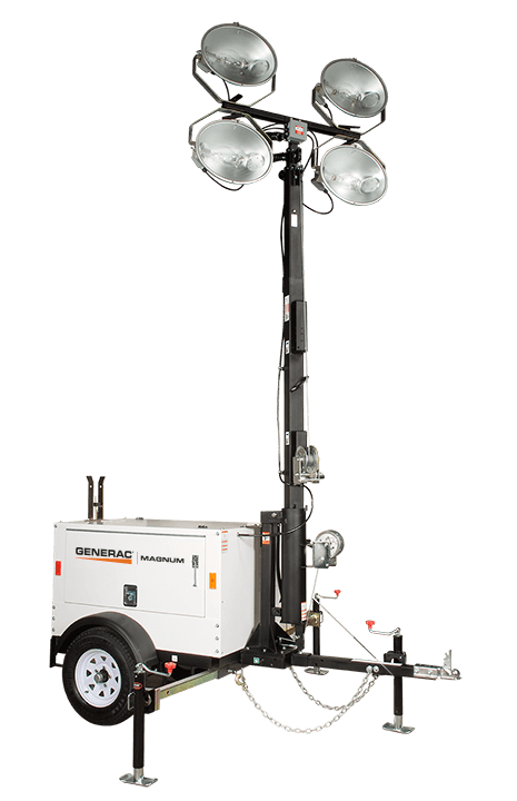 Generac Mobile Light tower for sale or rent at Wolverine Power Systems in Michigan