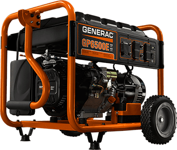 Generac portable generators| new or for rent | available at Wolverine Power Systems in Michigan