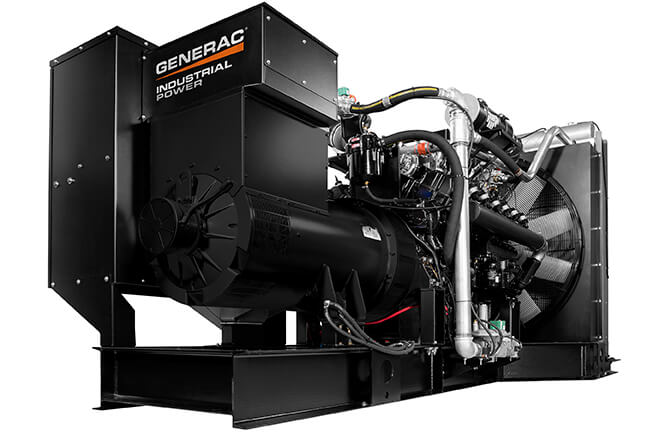 Generac Industrial natural gas generator 33.9L at Wolverine Power Systems in Michigan