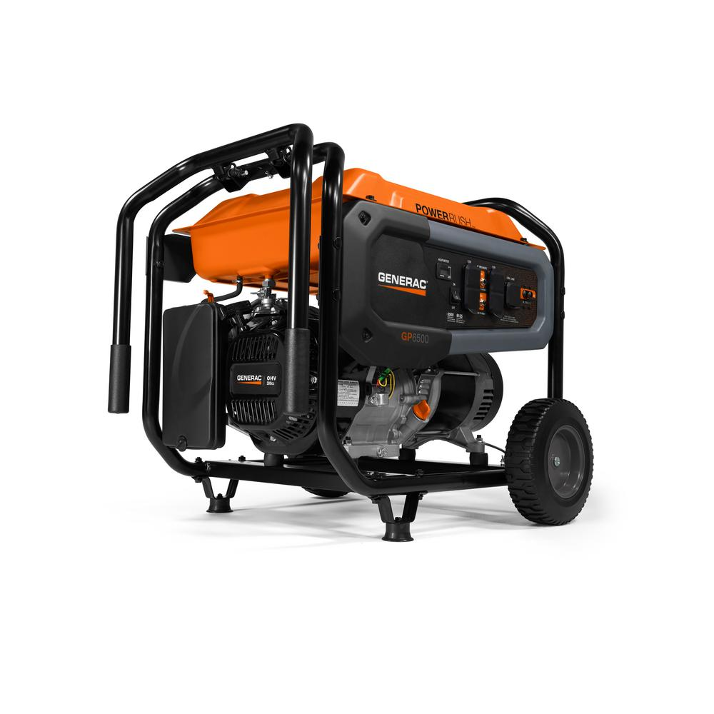 Generac portable generators available at Wolverine Power Systems in Michigan