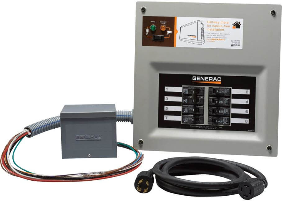 Generac manual transfer switch at Wolverine Power Systems