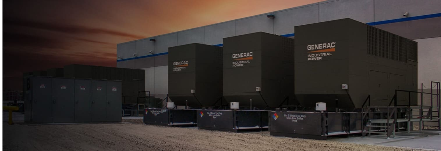 Wolverine Power Systems - Generac industrial power generators for a data center in Michigan