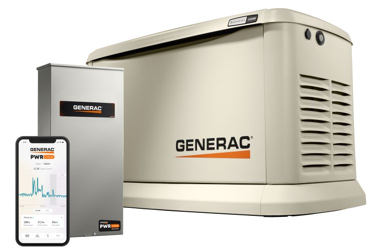 Generac Guardian 24kW home standby generator